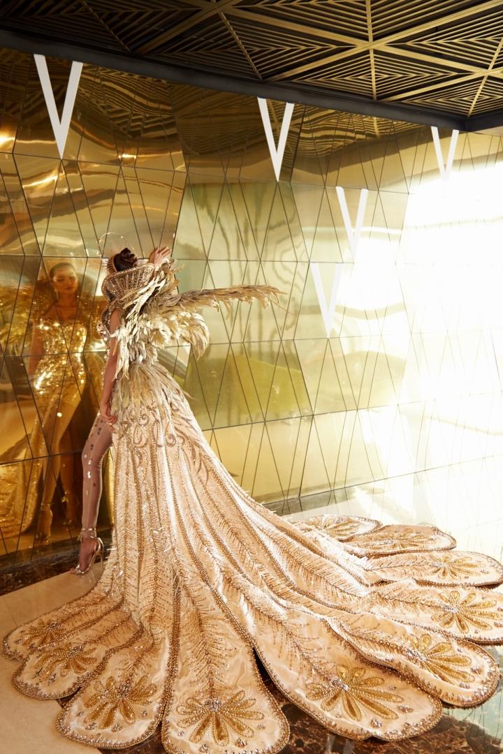 Vẻ đẹp quyền lực của Hoa hậu H'Hen Niê trong tạo hình nữ thần Mặt trời - 9