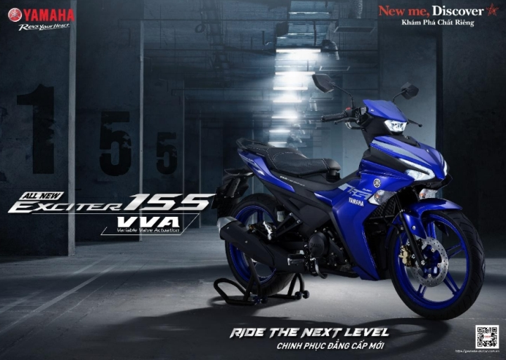 Yamaha Exciter 155 VVA phiên bản 'lột xác' ra mắt, giá từ 46,99 triệu đồng - 1