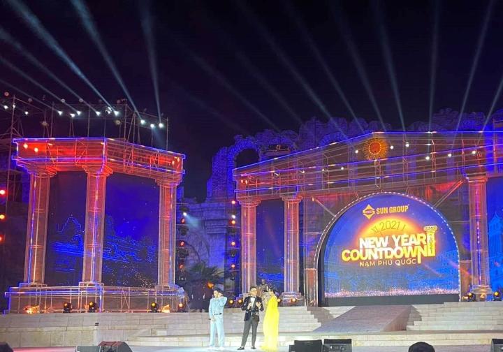 New Year Countdown 2021 Nam Phú Quốc: Không gian nghệ thuật đẳng cấp xứng tầm - 9