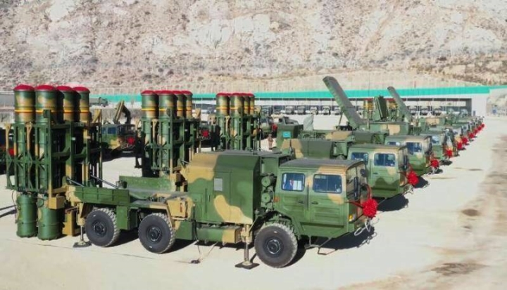 چین تعداد بیشتری موشک دفاع هوایی HQ-16B را به تبت -1 فرستاده است