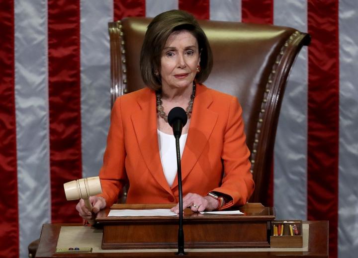 نانسی پلوسی دوباره به عنوان رئیس مجلس نمایندگان ایالات متحده انتخاب شد - 1