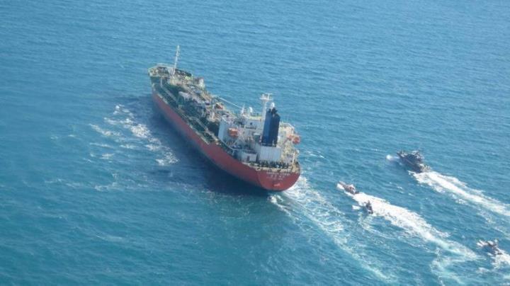 ایران نفت کش های کره ای را با خدمه ویتنامی تصرف می کند - 1