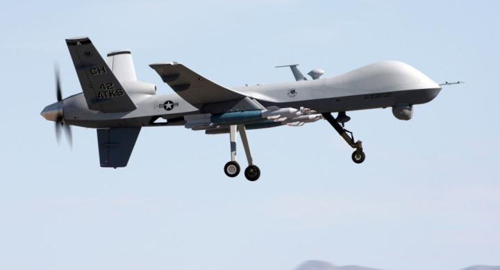 آمریکا هواپیمای بدون سرنشین MQ-9 Reaper را