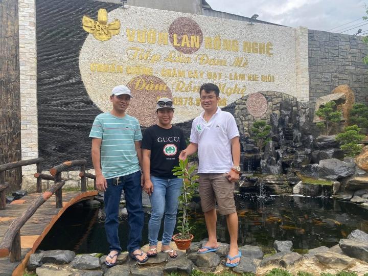 Đàm Rồng Nghệ – chàng trai 8X bỏ kinh doanh để nuôi trồng hoa lan - 3