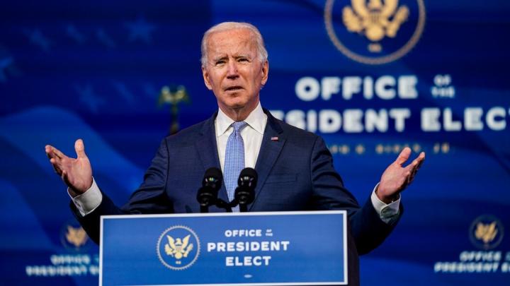 رئیس جمهور منتخب جو بایدن: دموکراسی آمریکایی