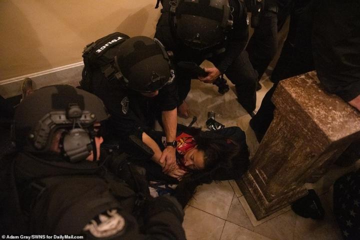 افشاگری تکان دهنده قربانی که در شورش در ساختمان کنگره جان باخت