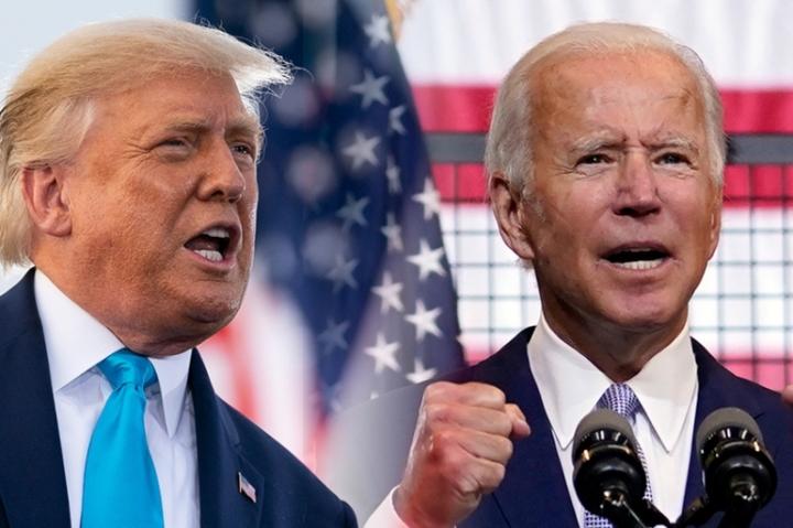آقای بایدن از زمان شورش های کاپیتول از رئیس جمهور ترامپ انتقاد کرده است