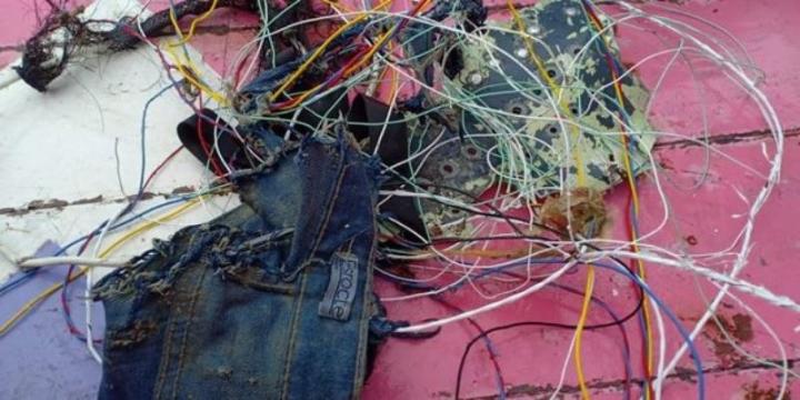 بقایای موجود در هواپیمای اندونزی حامل 62 گمشده - 3