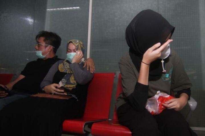 بقایای موجود در هواپیمای اندونزی که حامل 62 نفر مفقود شده بود - 4