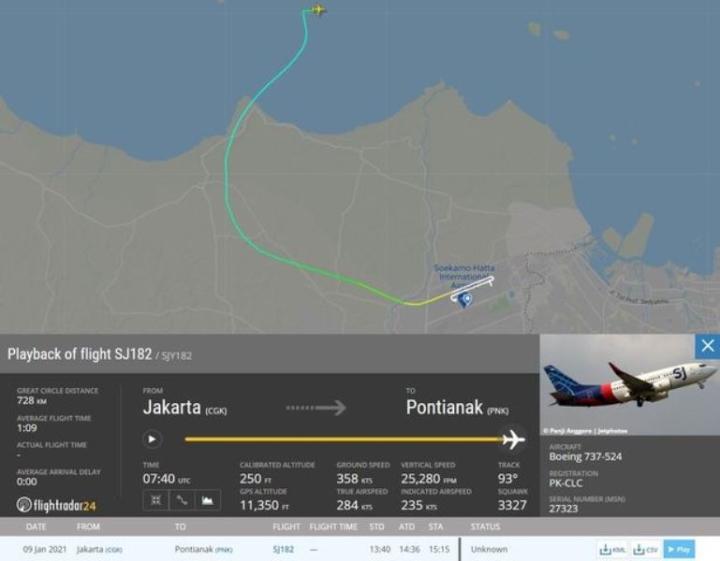 بقایای موجود در هواپیمای اندونزی که حامل 62 گمشده بود - 5