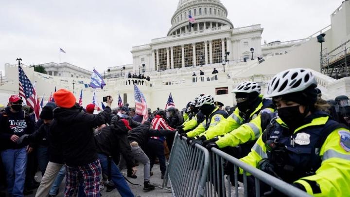 پلیس کاپیتول: مسئولان کنگره امنیتی از 6 تا 1 ژانویه از بسیج امنیتی جلوگیری می کنند