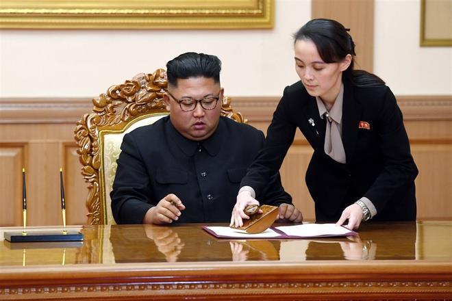 چرا خواهر کیم جونگ اون در دفتر سیاسی کره شمالی غایب است؟  - اولین