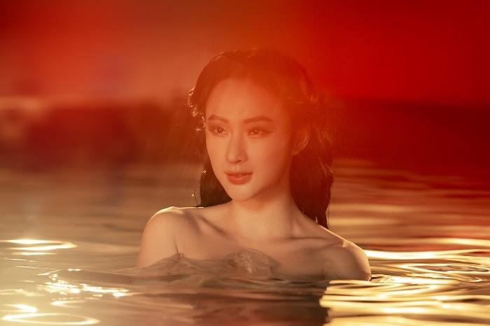 Sau 3 năm rút khỏi showbiz, Angela Phương Trinh tung bộ ảnh kiêu sa, gợi cảm - 6