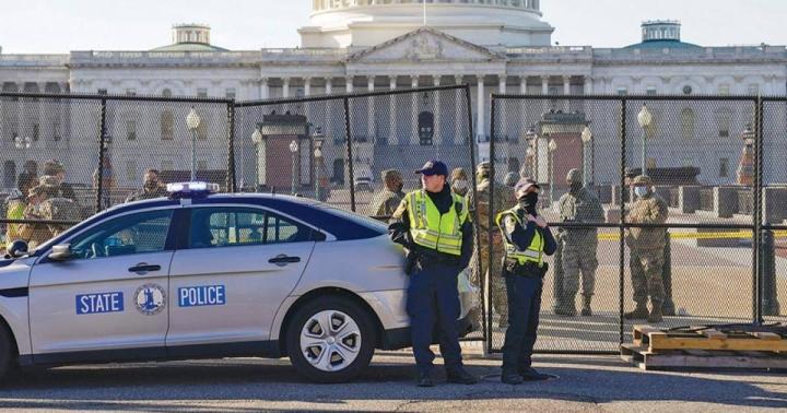 آمریکا امنیت را تقویت می کند ، از مراسم تحلیف آقای بایدن دفاع می کند - 3