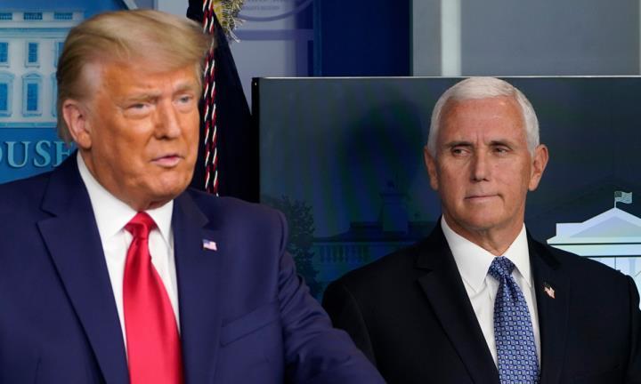 معاون رئیس جمهور پنس از به چالش کشیدن اصلاحیه 25 که حذف Trump-1 را رد می کند