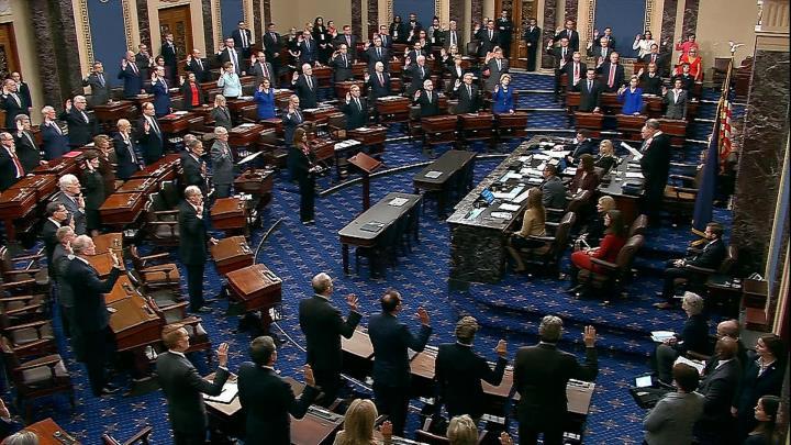 مجلس سنای آمریکا پس از روی کار آمدن بایدن از استیضاح محاکمه ترامپ رونمایی کرد - 1