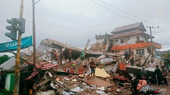 زلزله در اندونزی ، بیش از 600 قربانی - 1