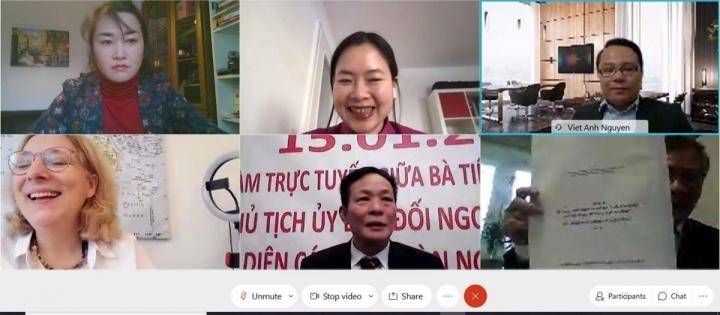 کمیته امور خارجه پارلمان آلمان در حال برگزاری یک کنفرانس آنلاین در مورد دریای چین جنوبی است - 2