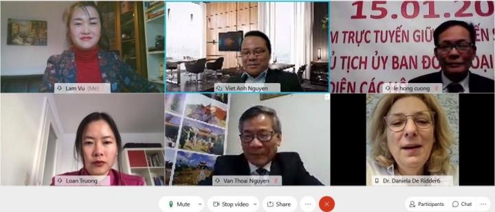 کمیته امور خارجه پارلمان آلمان یک کنفرانس آنلاین در مورد دریای چین جنوبی برگزار می کند - 1