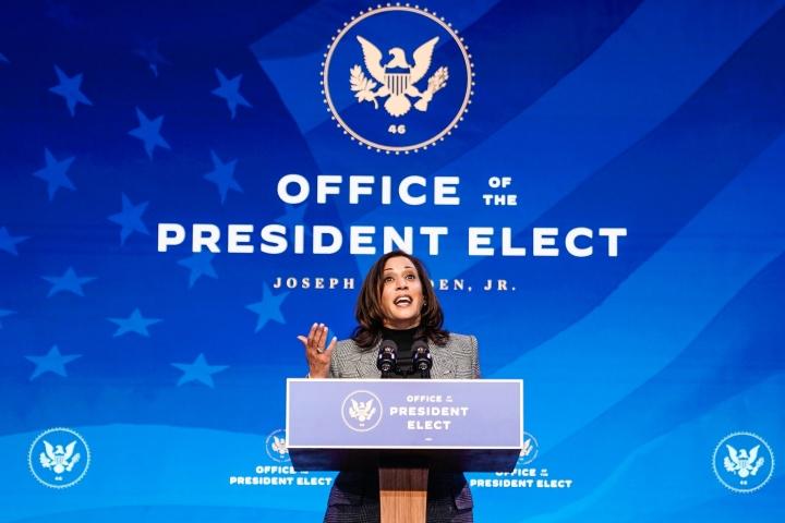 خانم کمالا هریس از سمت سناتور استعفا می دهد - 1