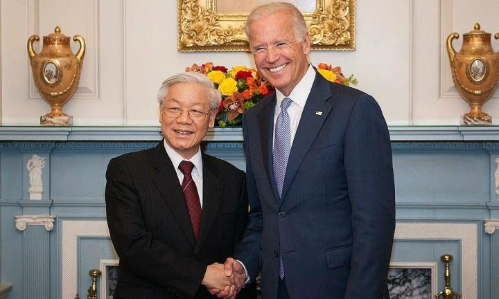 ویتنام مراسم تحلیف جو بایدن را به عنوان رئیس جمهور ایالات متحده تبریک می گوید - 1