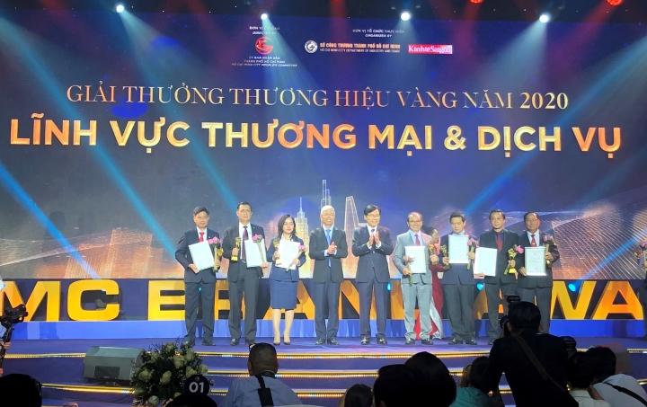 Saigon Co.op là thương hiệu Vàng của TP.HCM - 1