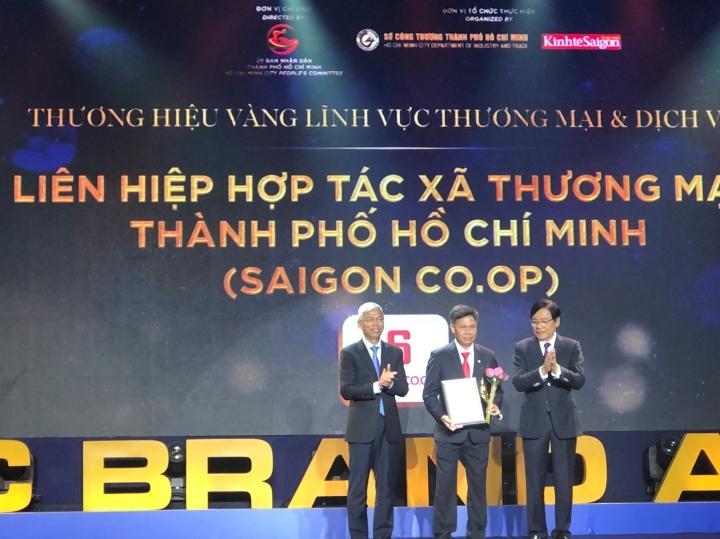 Saigon Co.op là thương hiệu Vàng của TP.HCM - 2