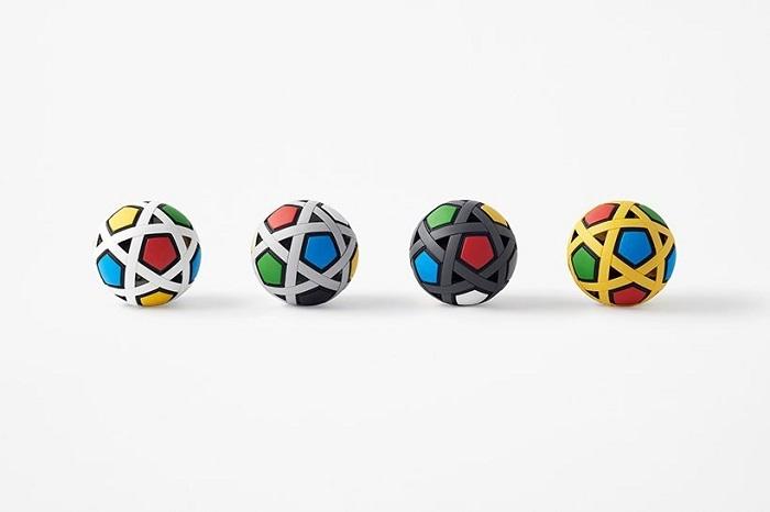 Nhật Bản chế tạo quả bóng đá không cần bơm, không bao giờ xì hơi - 3