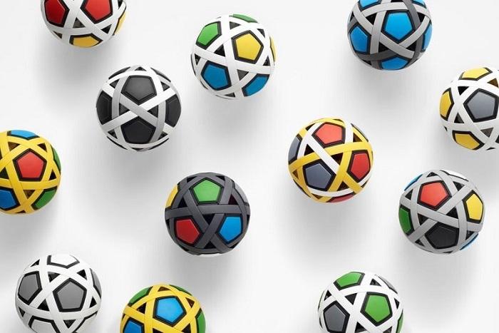 Nhật Bản chế tạo quả bóng đá không cần bơm, không bao giờ xì hơi - 9
