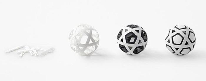 Nhật Bản chế tạo quả bóng đá không cần bơm, không bao giờ xì hơi - 10