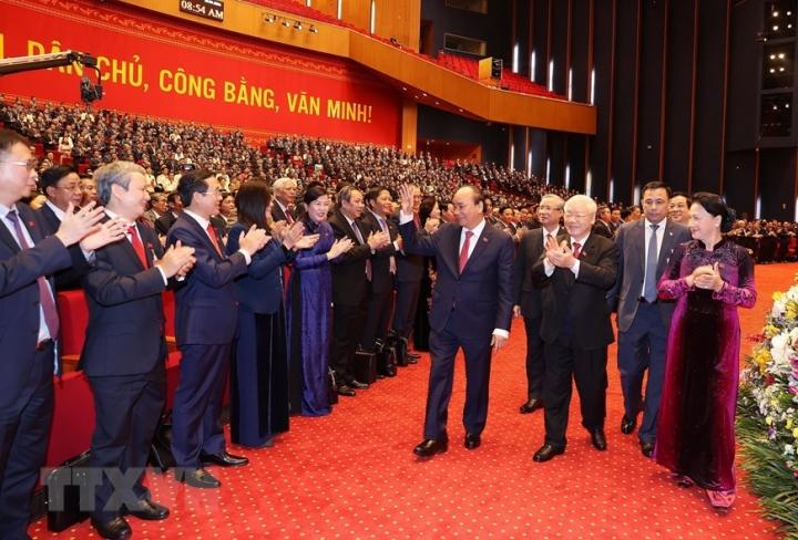Sáng nay, khai mạc Đại hội Đại biểu toàn quốc lần thứ XIII của Đảng - 1