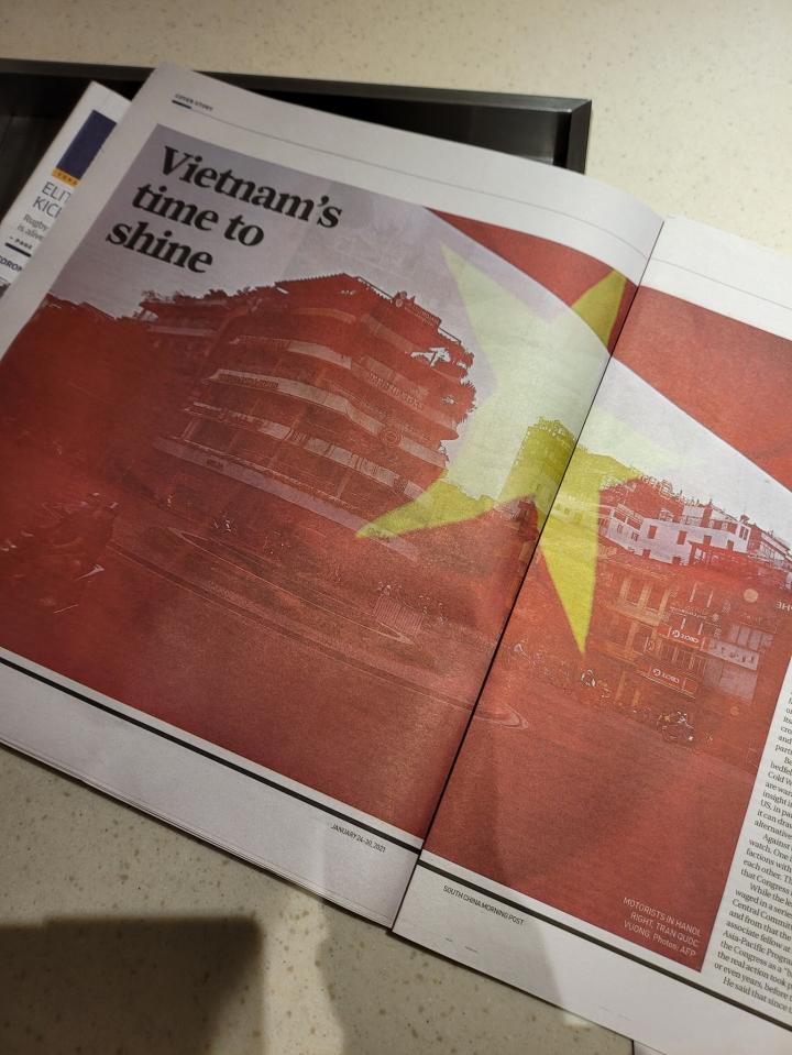 روزنامه هنگ کنگ از کنگره حزب XIII گزارش می دهد: ویتنام آماده درخشش است - 1