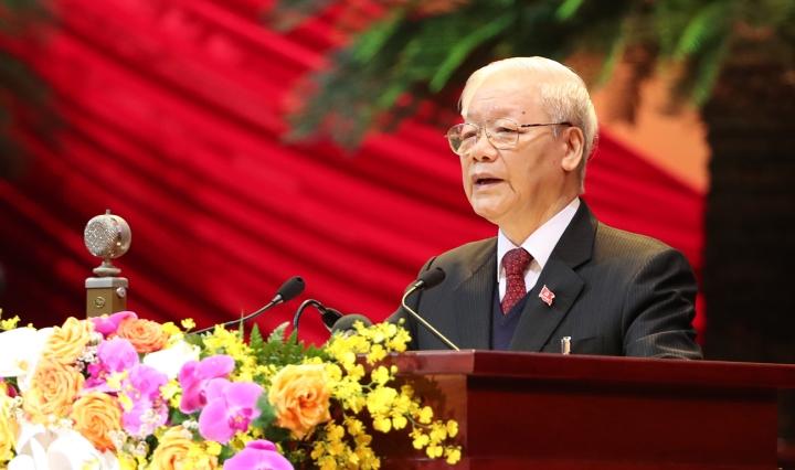 آقای تپ Can Binh به دبیرکل نگوین پو Trong تبریک گفت - 1