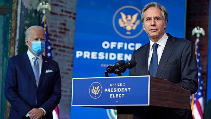 آیا وزیر خارجه جدید آنتونی بلینکن ، آمریکا را به سیاست جهانی بازگرداند؟  - اولین