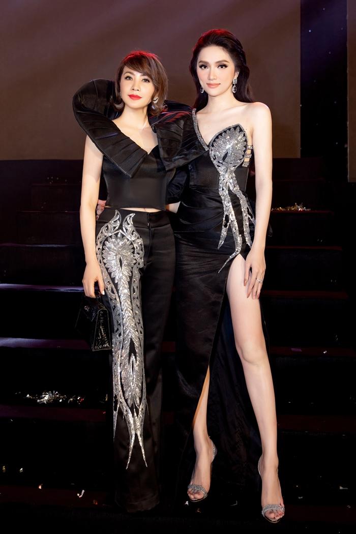 Hoa hậu Hương Giang 'đốt mắt' fan bằng thiết kế của Tuyết Lê - 2