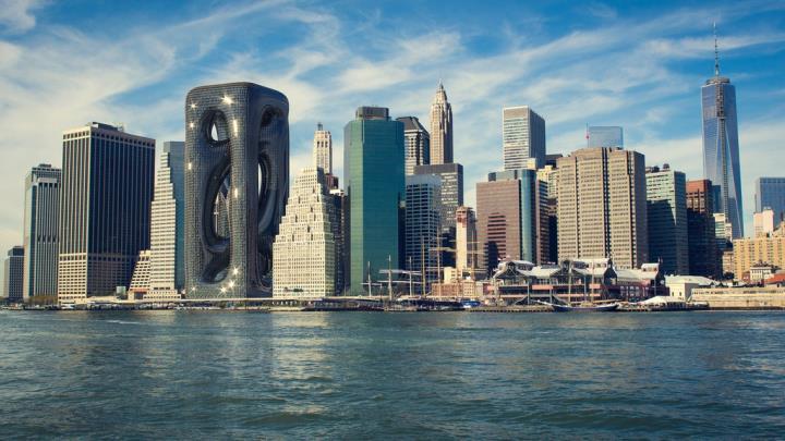 Những thiết kế kiến trúc cao ốc siêu táo bạo - 2