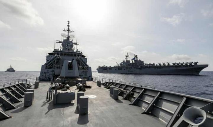 استرالیا اعلام کرده است که به عملیات گشت خود در دریای چین جنوبی ادامه می دهد - 1