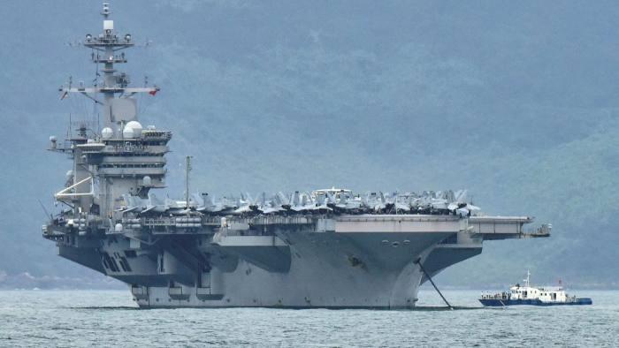 تمرینات چینی ها برای حمله به ناوهای هواپیمابر آمریکایی با موشک - 1