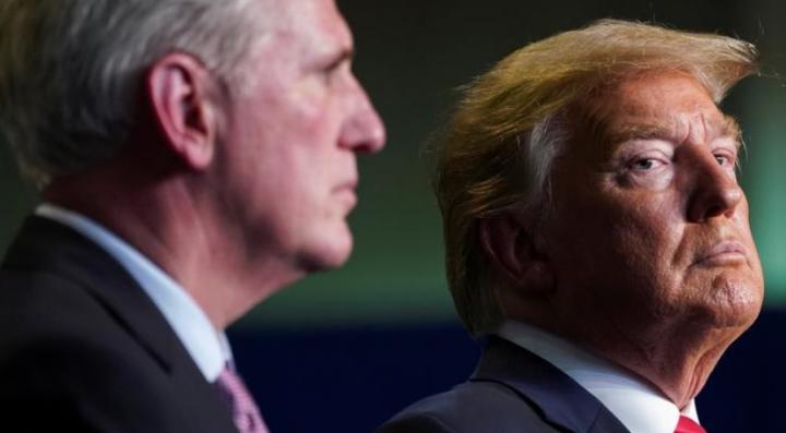 ترامپ قول داده است که جمهوریخواهان را برای به دست آوردن مجلس نمایندگان کمک کند