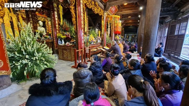 Khám phá chùa Phật Tích nghìn năm tuổi qua góc máy từ trên cao - 10