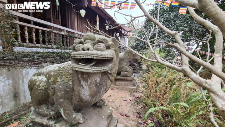 Khám phá chùa Phật Tích nghìn năm tuổi qua góc máy từ trên cao - 4
