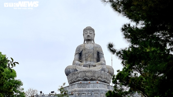 Khám phá chùa Phật Tích nghìn năm tuổi qua góc máy từ trên cao - 7