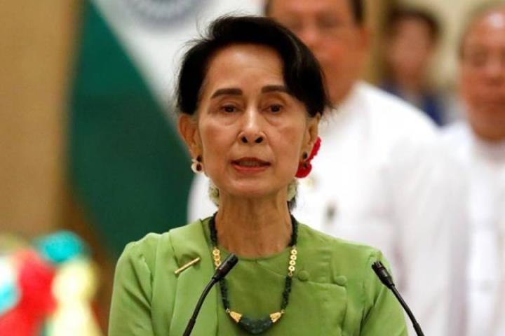 داغ: رهبر آنگ سان سوچی و بسیاری از مقامات میانمار دستگیر شده اند - 1