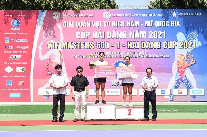 Lý Hoàng Nam vô địch VTF Masters 500-1 - 2