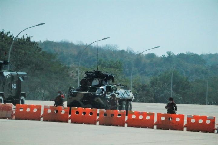 ژنرال قدرت پس از کودتا در میانمار - 1
