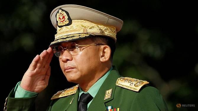 ژنرال قدرت پس از کودتا در میانمار - 2