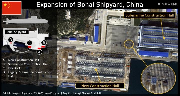 افشای آخرین تصویر از زیردریایی هسته ای Type-095 پکن ، مخفیانه ساخته شده - 2