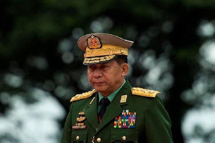 فرمانده کل کودتای میانمار برای اولین بار از زمان قیام سخنرانی کرد