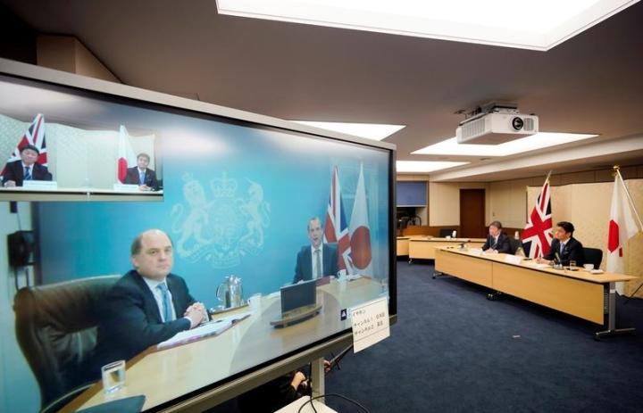 انگلیس و ژاپن با انتشار بیانیه ای مشترک نگرانی خود را نسبت به اوضاع دریای شرقی ابراز داشتند - 1