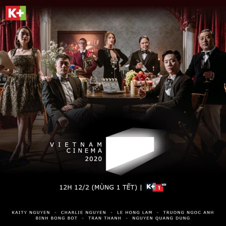 Vietnam Cinema, Mùng 1 Tết trên K+: Bữa tiệc điện ảnh cùng dàn ngôi sao hàng đầu - 1